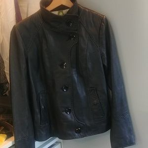 Soia and Kyo leather jacket size L in EUC